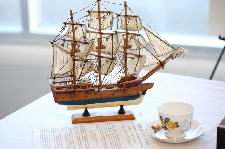 ship and teacup